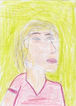 student illustration of Board of Directors member Nancy Myers