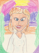 student illustration of Board of Directors member Phyliss Phillips