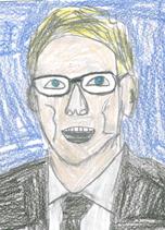 student illustration of Board of Directors member William Dolan